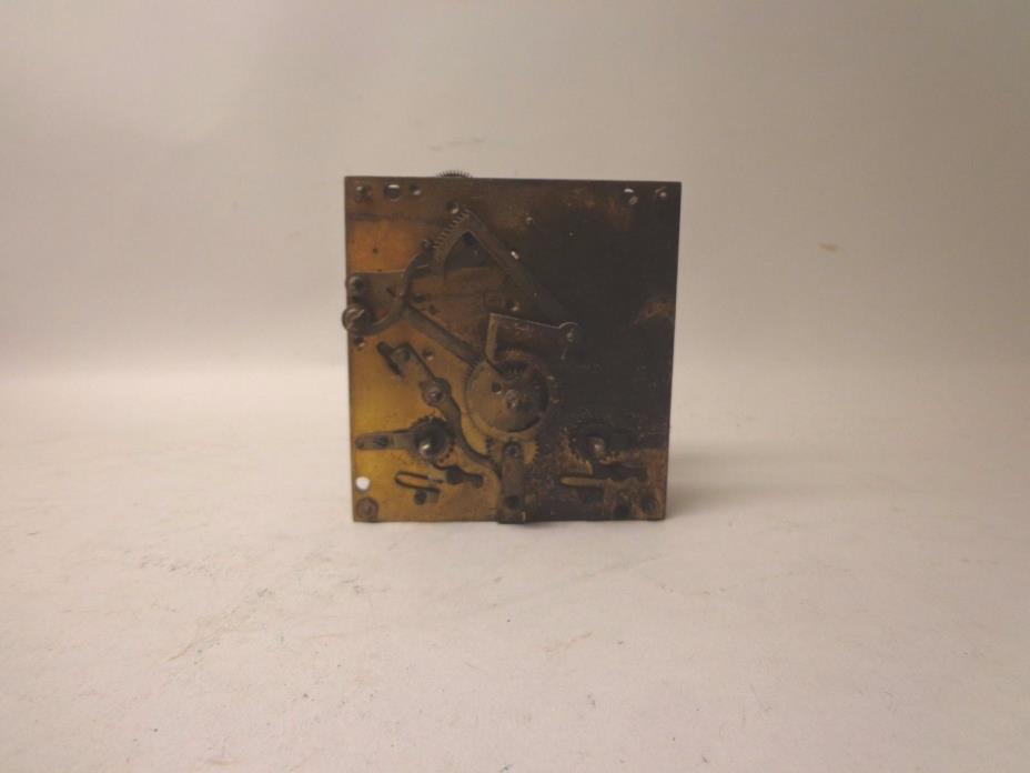 Antique Junghans Clock Movement For Parts or Restore