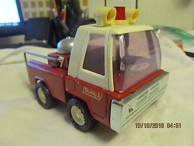 vintage metal buddy l fire truck