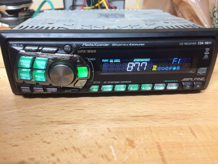 Alpine Car Stereo Cda - For Sale Clifieds on