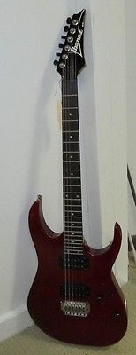 Vintage IBANEZ RG Series Red Electric Guitar J279