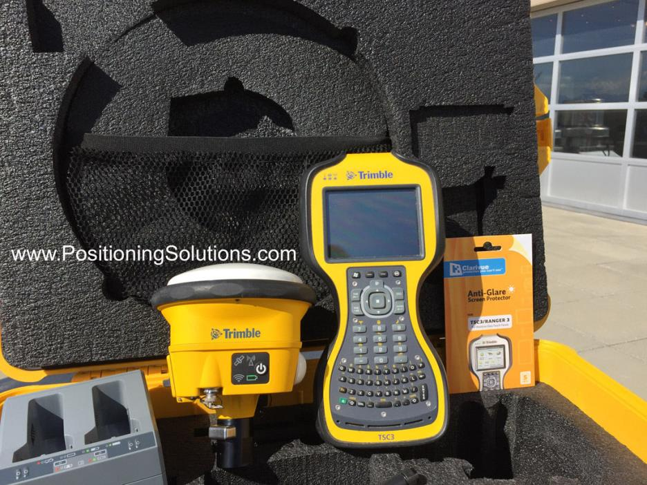 Trimble SPS985 with TSC3, SCS900, 900MHz
