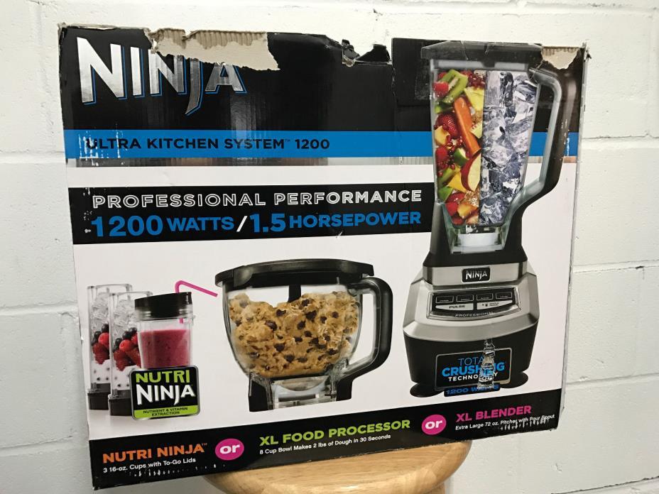 ninja kitchen system 1100 blender - for sale classifieds