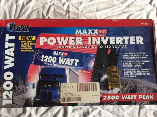 Vector Vc053 1200 Watt Power Inverter