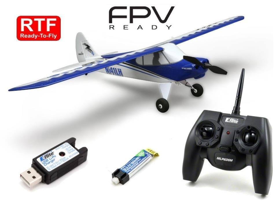 HOBBYZONE Sport Cub & FREE Spare Battery BEGINNER RC AIRPLANE HBZ4400