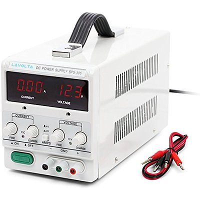 Lavolta Power Supplies BPS305 Variable Linear DC Power Supply 0 - 30V 0 - 5A - -