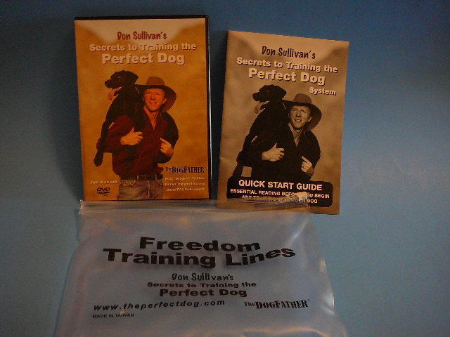 Don Sullivan Secrets to Training the Perfect Dog 2 Disc DVD Set in Zippered Case