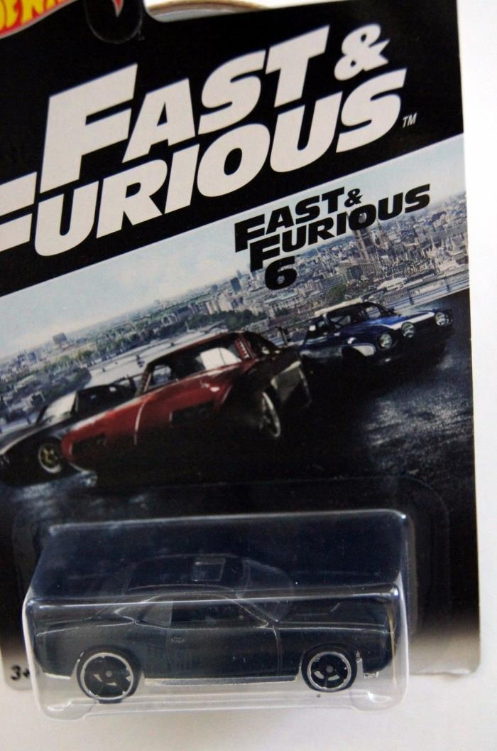 Hot Wheels 2016 Fast & Furious 08 Dodge Challenger SRT8 #6 Walmart Exclusive