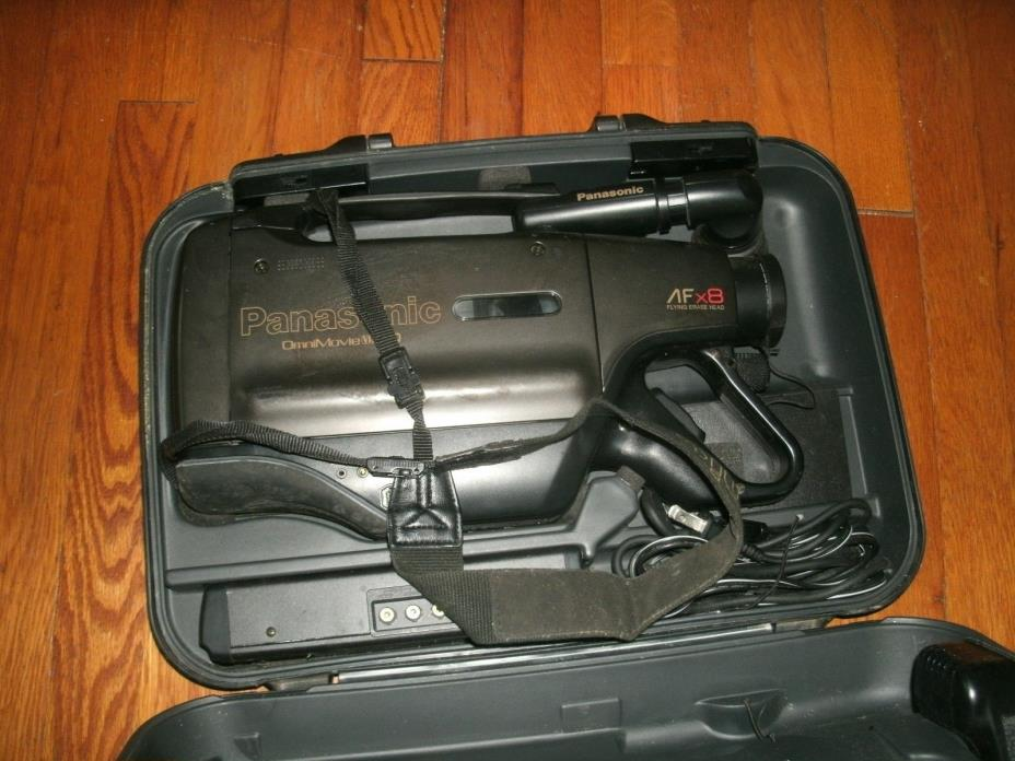 Panasonic Vhs Camcorder With Case For Sale Classifieds