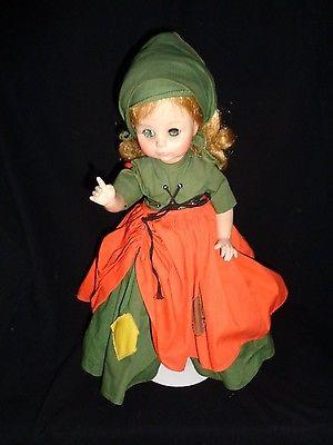 Vintage Madame Alexander Doll Poor Cinderella