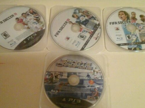 Ps3 disc sonly fifa soccer 09 10 11 sports champions