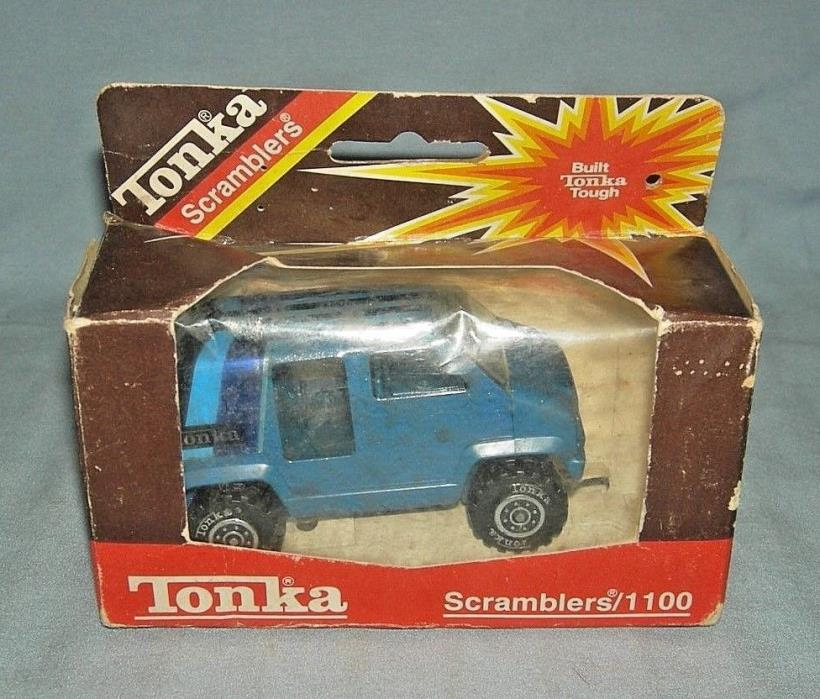 Vintage Tonka Scramblers Window Van in Box 1982