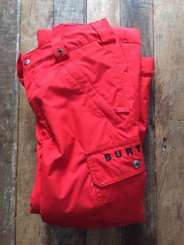 BURTON Kids Chittagong Dry Ride Snowboard Ski Winter Pants Size: Large 14 / 16