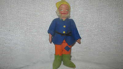 Vintage 1950's Irish Leprechaun  Gnome Doll