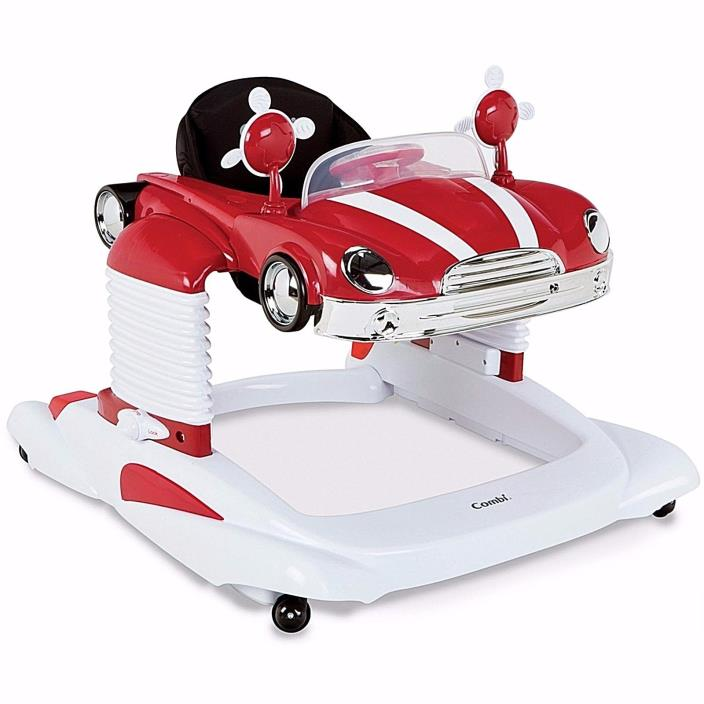 Mobile Entertainer Combi All One Walker Baby New Car Activity  Red White New