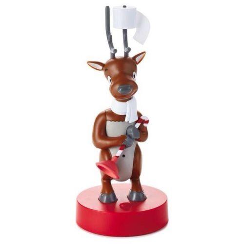 Deer John Talking Reindeer Bathroom Decoration