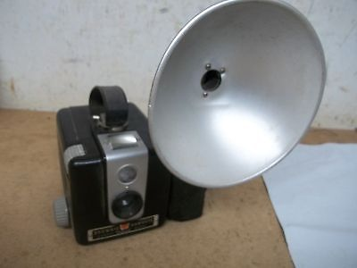 Old Brownie Hawkeye Camera with Flash