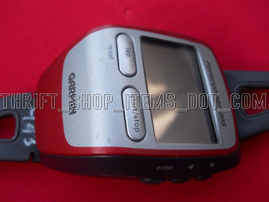 Garmin Forerunner 305 Red GPS Watch