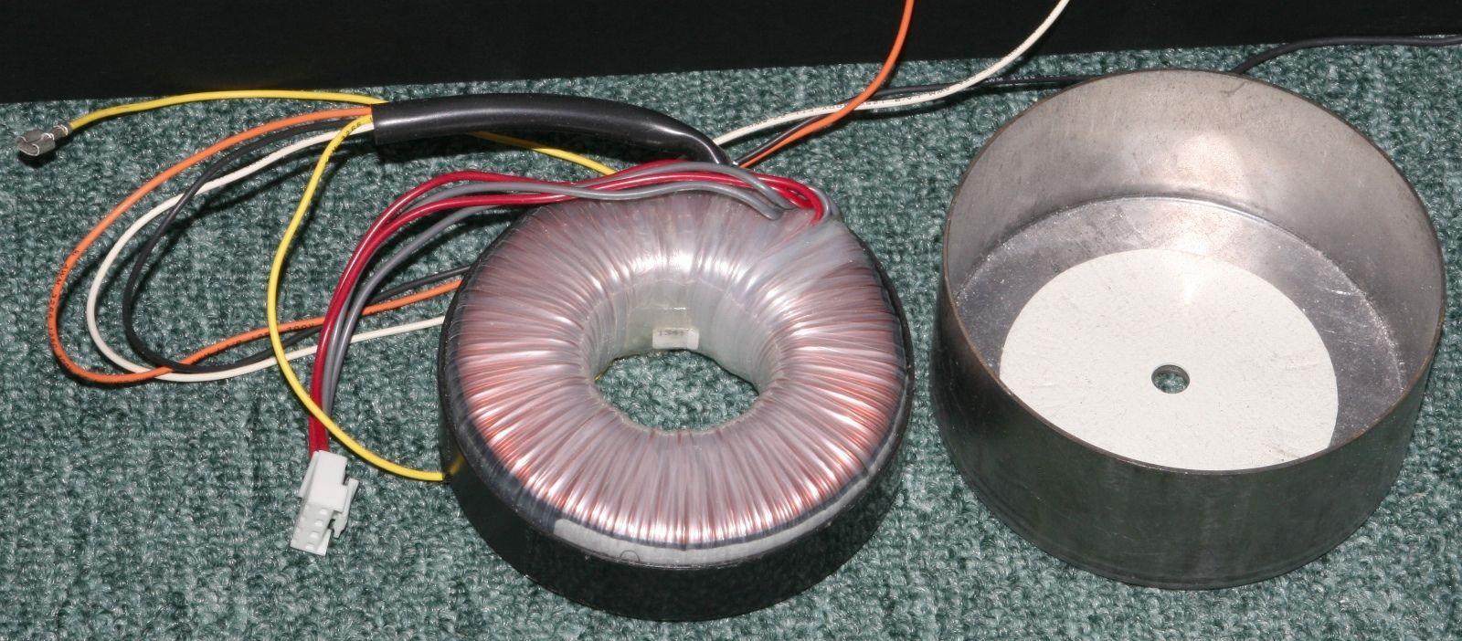 TOROID TRANSFORMER / AUDIO PROJECTS. 18, 0, 18 VAC AT 2.5 AMP LOAD.  24 0 24 VDC