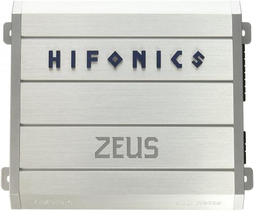 Hifonics ZRX616.4 Zeus 4-Channel Class-A/B Car Amplifier, 600-Watt