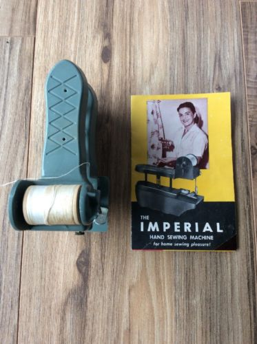 Vintage Imperial Hand Sewing Machine