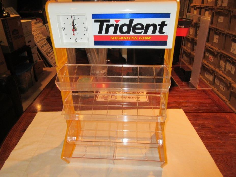 Trident Gum Clock Display , 20