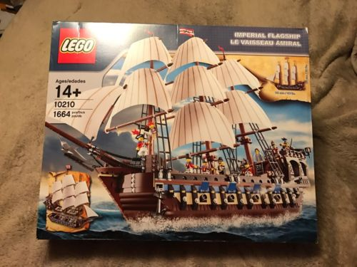 LEGO (10210) Imperial Flagship New In Sealed Box!