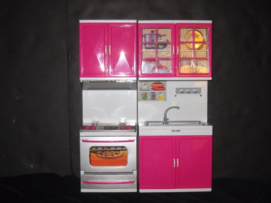 Barbie Kitchen Dollhouse Furniture Lot
