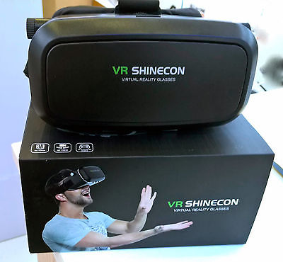 Genuine SHINECON VR BOX 3D Virtual Reality Glasses For Samsung iPhone