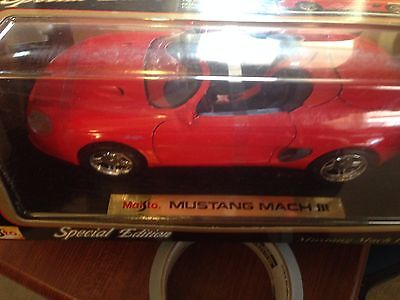 Maisto 1:18 Mustang Mach 111  special edition