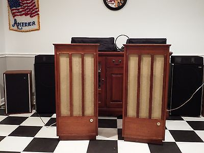 Vintage 1963 ADC-18 Audio Dynamics Corporation Speakers