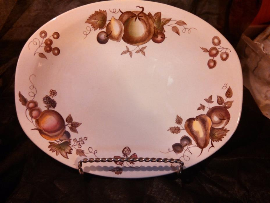 Johnson Brothers Staffordshire Old Granite Orchard Platter England