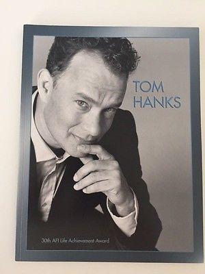 TOM HANKS 30th American Film Institute AFI Life Achievement Award PROGRAM BOOK