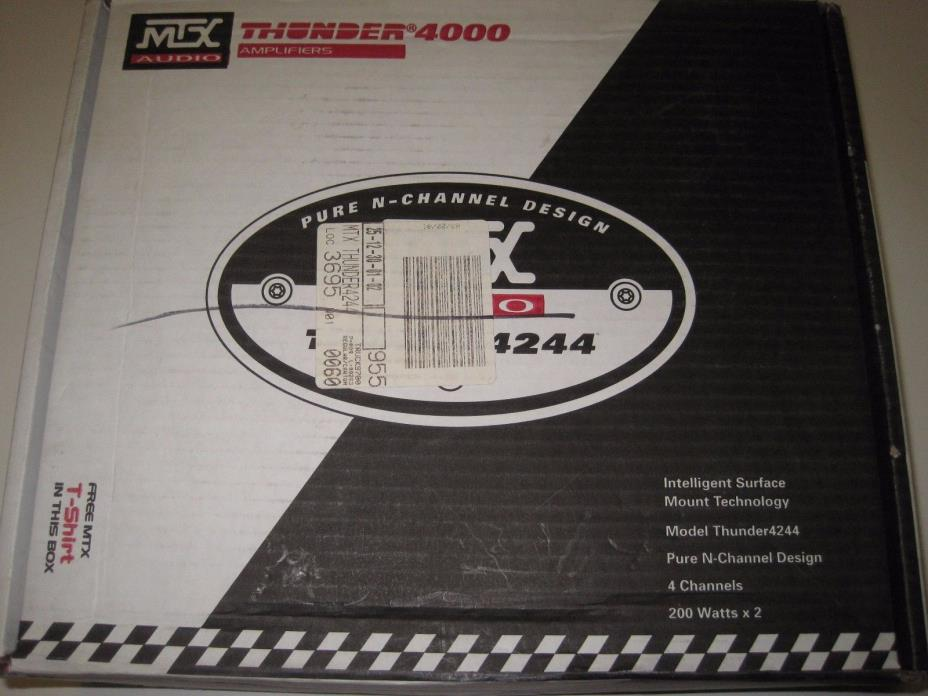 Mtx Car Amplifiers - For Sale Classifieds