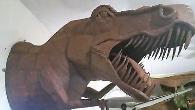 T-Rex Dinosaur Metal sculpture famous artist: Ricardo Breceda,Wall Mount Prop