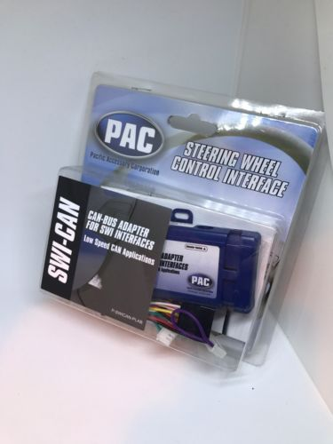 SWI-CAN PAC STEERING WHEEL RADIO CAN-BUS ADAPTER FOR SWI INTERFACE LATEST NEW