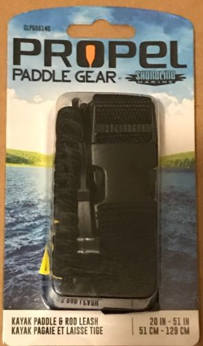 Propel Paddle Gear Kayak Paddle & Rod Leash