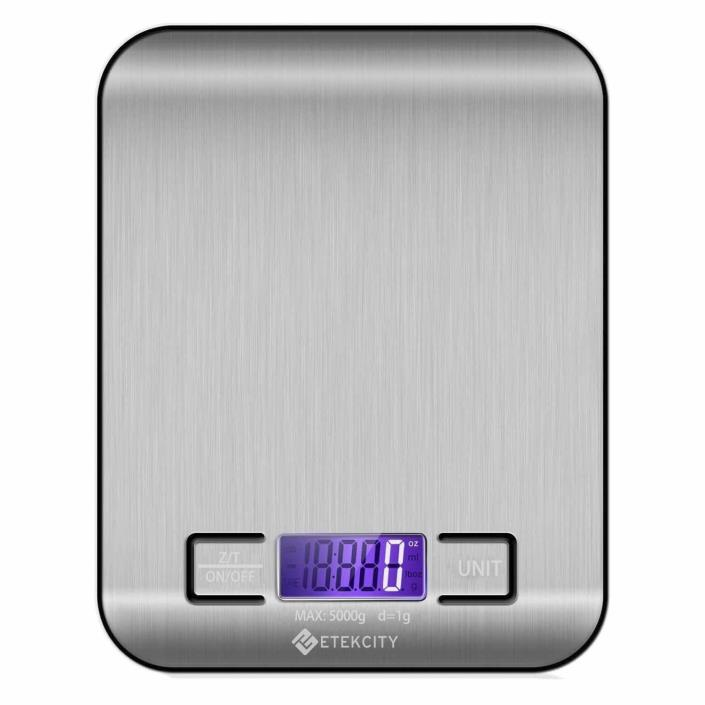 Food Kitchen Scale Digital Electronic Stainless Steel