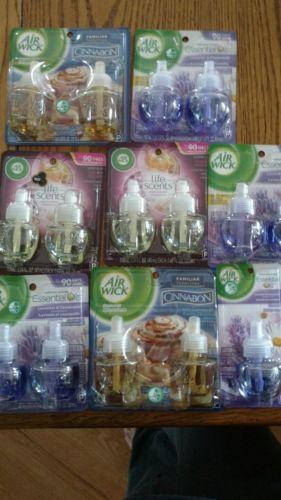 NIP lot of 15 Airwick scented oil refills