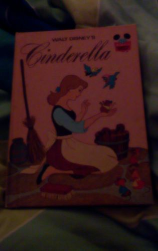 Walt Disney's Cinderella (1974) Book Club Edition