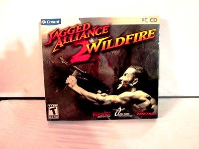 JAGGED ALLIANCE 2 WILDFIRE PC ROM BRAND NEW free shipping
