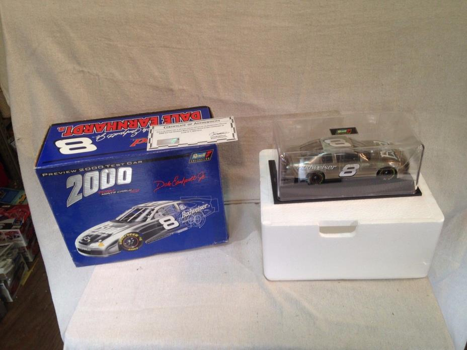 Revell Dale Earnhardt #3 2000 preview test car 1/24 scale diecast new in box