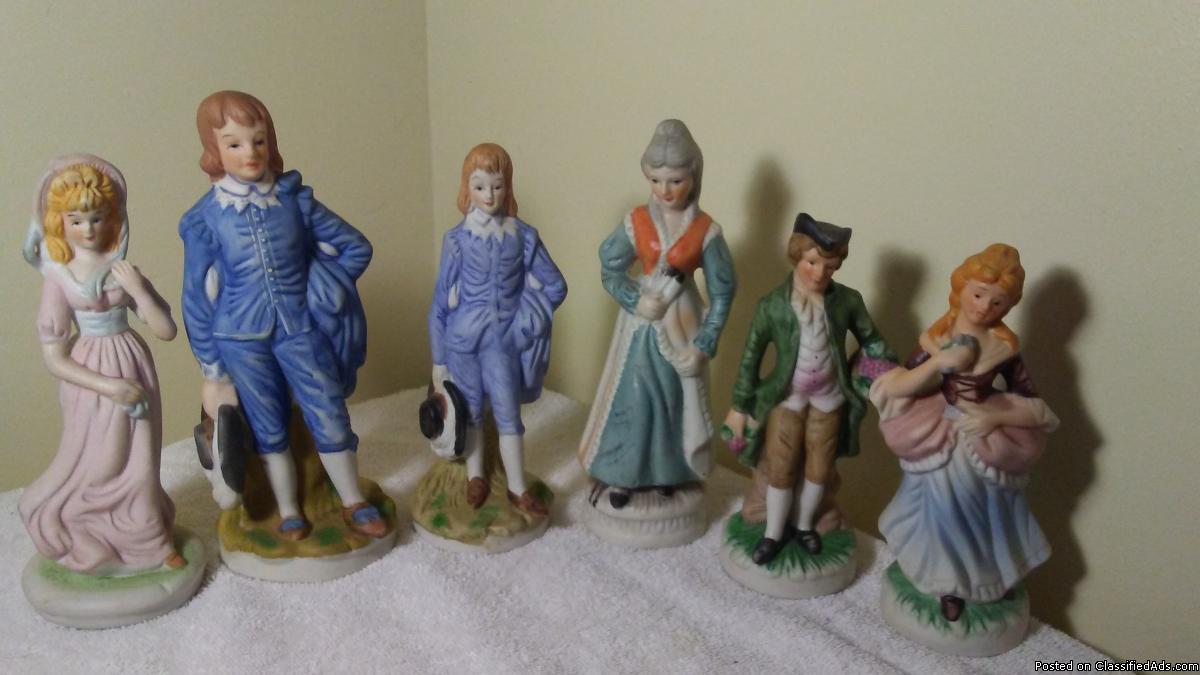 HOMCO home interiors porcelain figurines