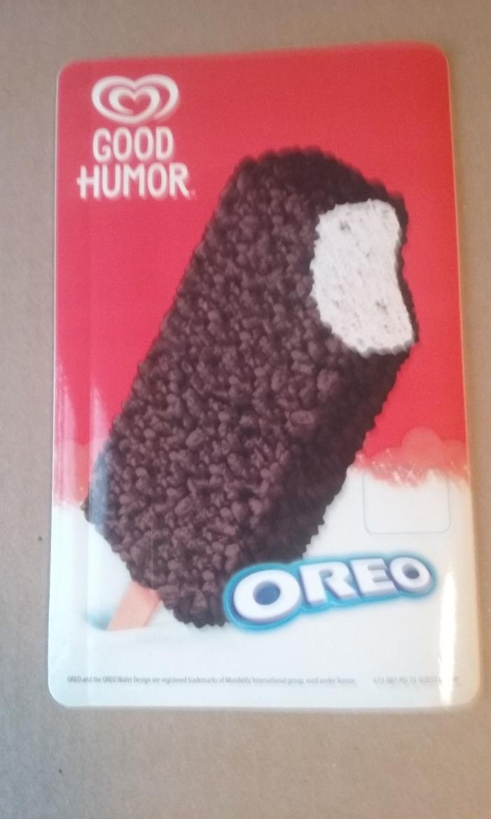 Good Humor Oreo Bar Ice Cream Truck Vending Sticker