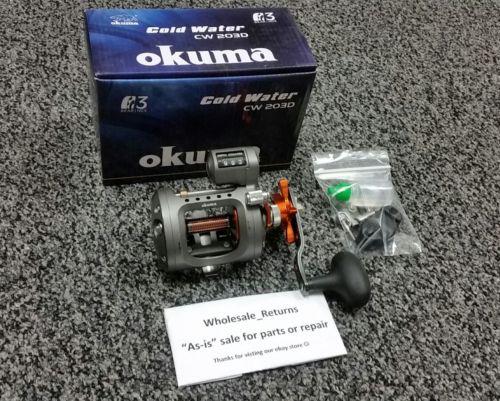 Okuma Cold Water CW 203D Linecounter Reel