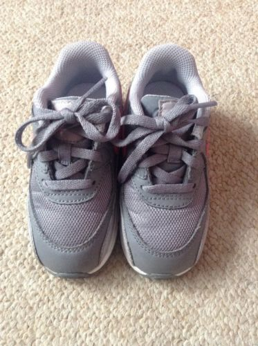 Toddler Nike Air Max EUC 8C Grey And Pink