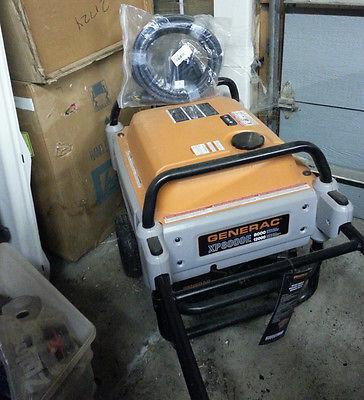 (Make an OFFER) New 8000 WATT GENERAC XP8000E Generator on Wheels - LOCAL PICKUP