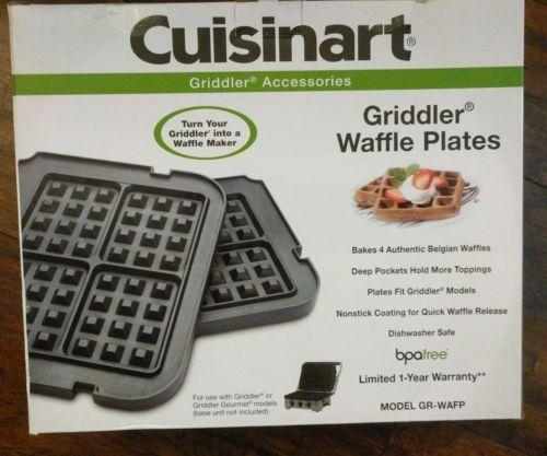 Cuisinart GR-WAFP Griddler Waffle Plates for GR-4/GR-4N Griddlers