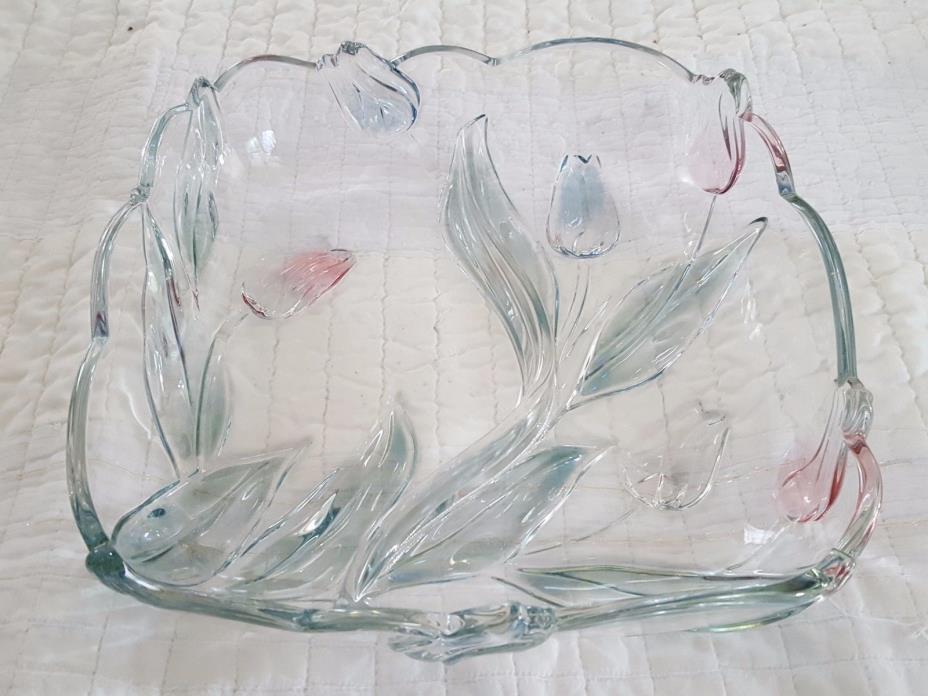 Mikasa Tivoli Crystal Serving Dishes