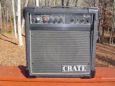 Tested CRATE G-10 XL ELECTRIC GUITAR AMP PRACTICE AMPLIFIER USA