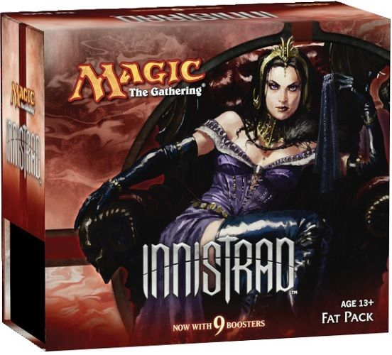 MAGIC THE GATHERING INNISTRAD FAT PACK FACTORY SEALED